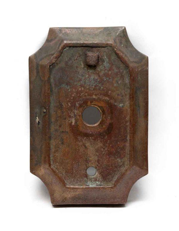 Elevator Hardware - Antique Heavy Bronze Elevator Plate