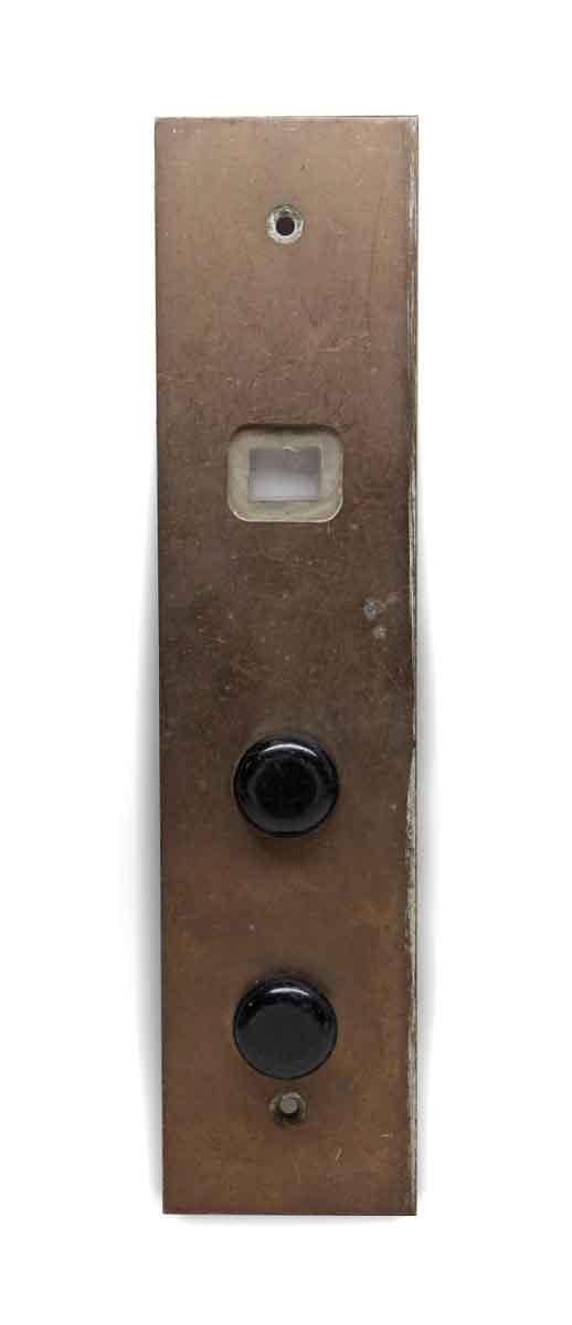 Elevator Hardware - Cast Brass Elevator Indicator Plate
