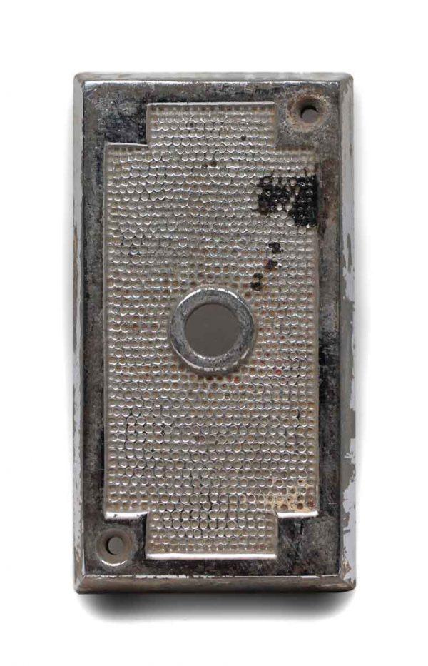 Elevator Hardware - Chrome Plated Elevator Plate