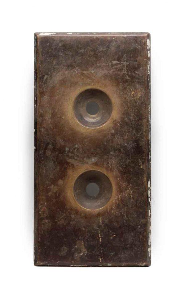 Elevator Hardware - Classic Bronze Elevator Indicator Plate