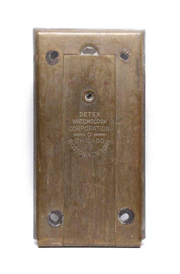 Elevator Hardware - Vintage Brass Elevator Box Plate