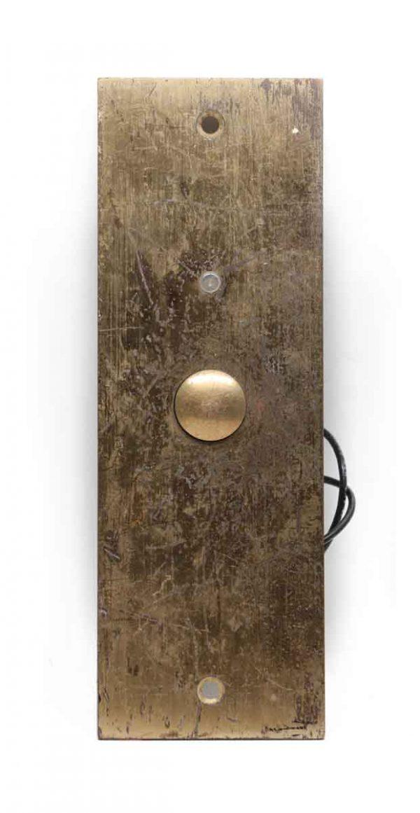 Elevator Hardware - Vintage Brass Elevator Plate
