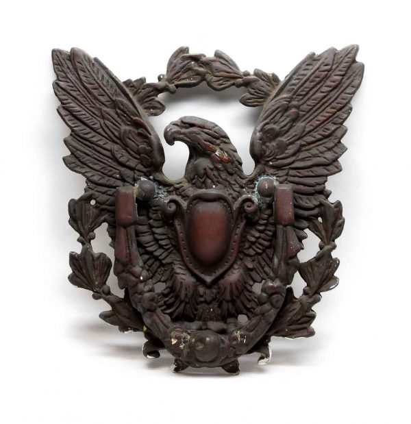 Knockers & Door Bells - Antique Bronze Decorative Large Eagle Knocker