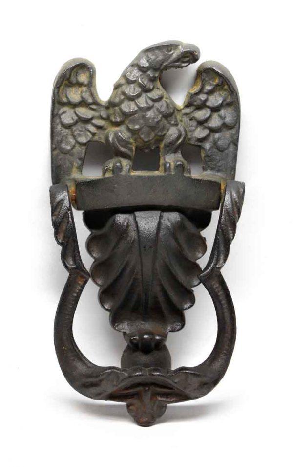 Knockers & Door Bells - Antique Cast Iron Eagle Knocker