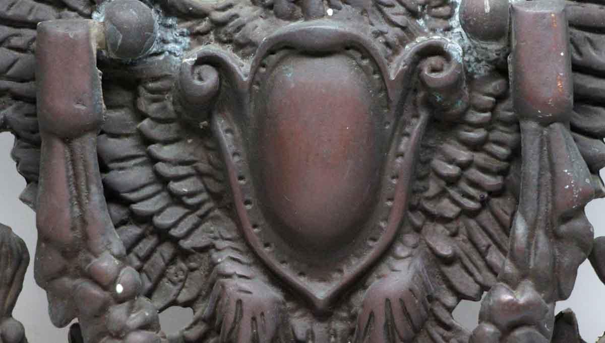 Antique Bronze Decorative Large Eagle Knocker