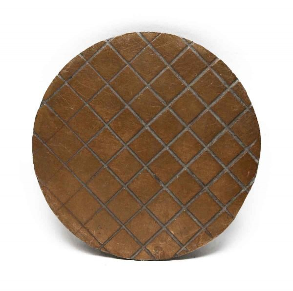 Other Hardware - Bronze Round Plate