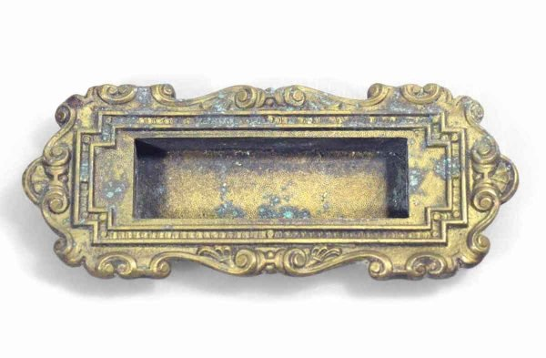 Window Hardware - Antique Victorian Recessed Window Lift