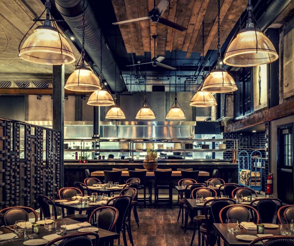 Industrial Lighting Restaurant: Olde Good Things