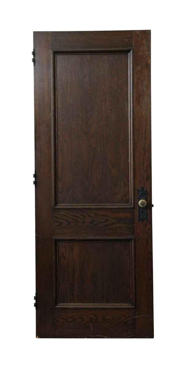 Old Dark Stain Gothic Oak Door