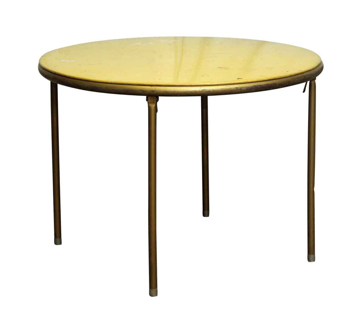 Commercial furniture 1950s round card table