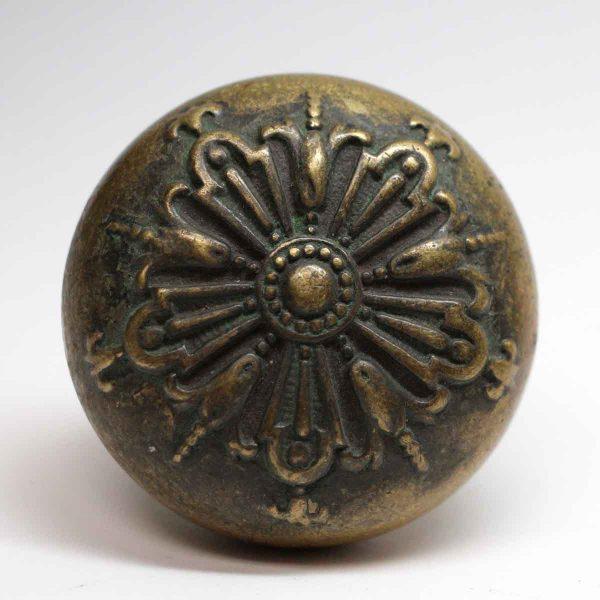 Door Knobs - Antique Barrows Bronze Five Fold Door Knob