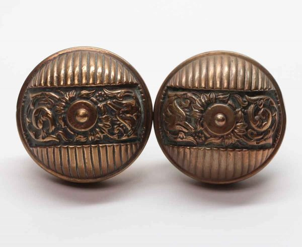 Door Knobs - Antique Bronze Interior Italian Renaissance Door Knob Set