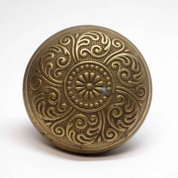 Door Knobs - Antique Corbin Six Fold Brass Door Knob