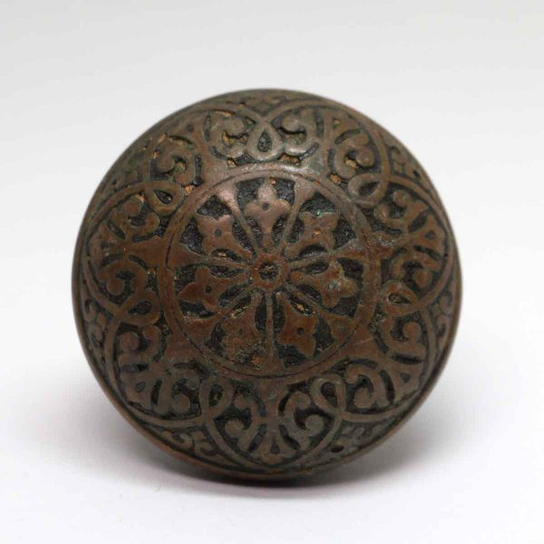 Door Knobs - Antique Hopkins & Dickinson Bronze Classic Door Knob