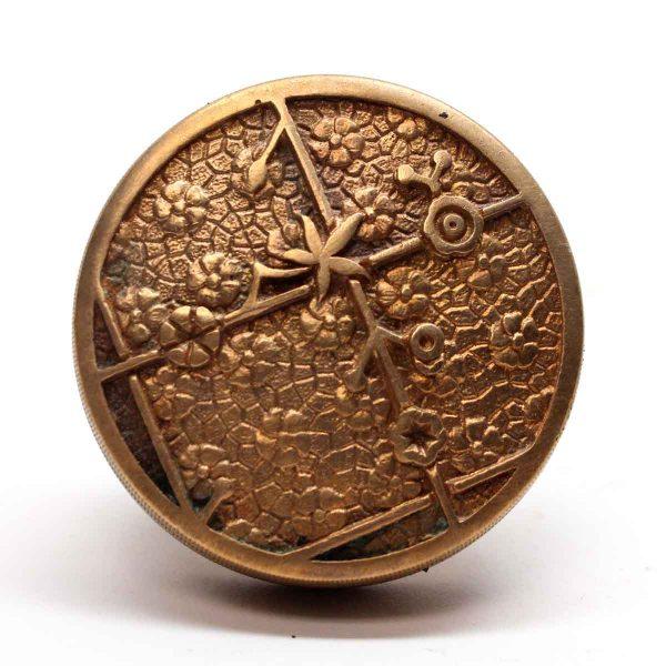 Door Knobs - Antique Oriental Bronze Vernacular Sargent Knob