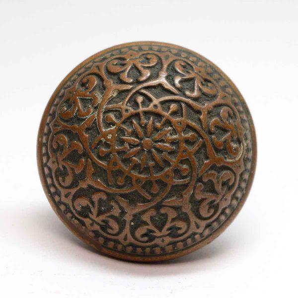 Door Knobs - Antique Russell & Erwin 8 Fold Bronze Door Knob