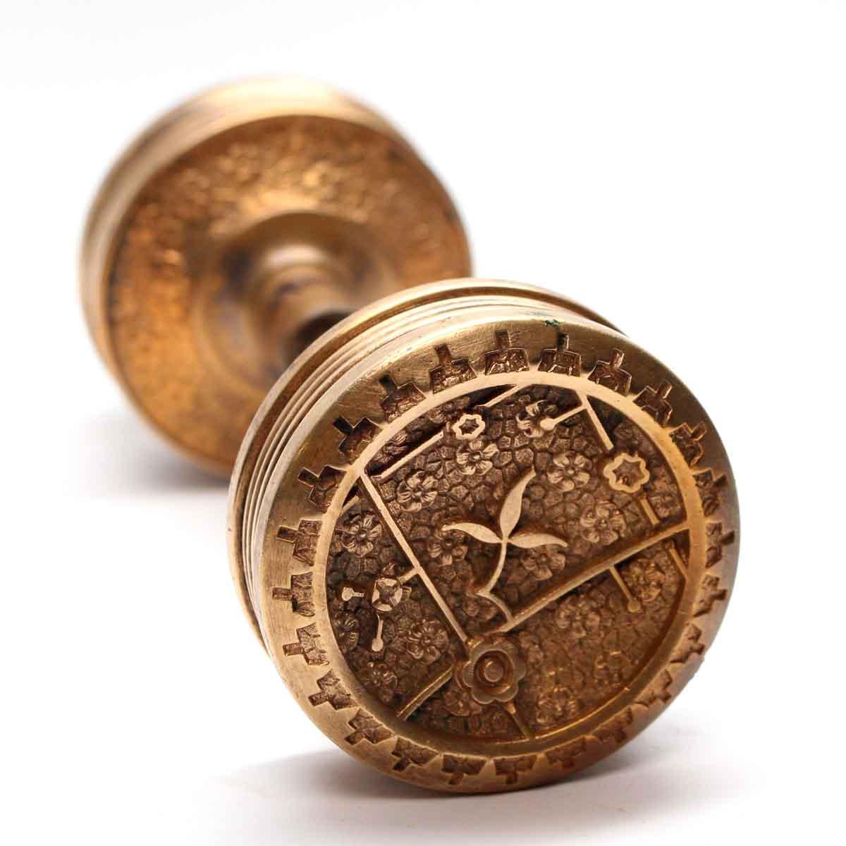 Antique Sargent Vernacular Entry Knob Set Olde Good Things