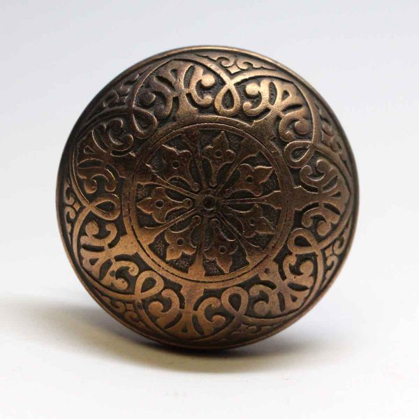 Hopkins & Dickinson - Antique Hopkins & Dickinson Classic Bronze Door Knob