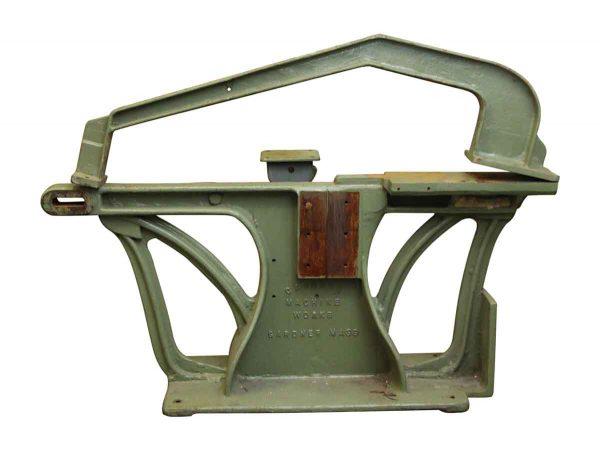 Industrial - Salvaged Gardner Chair Machinery Base