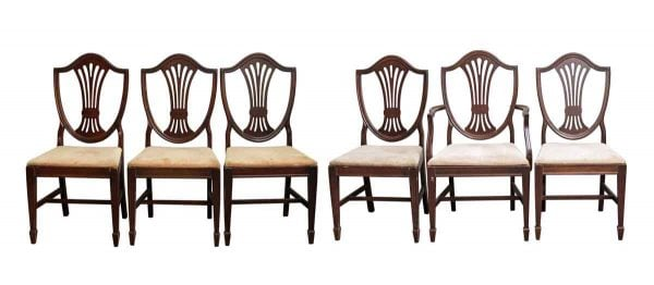 Kitchen & Dining - Duncan Phyfe Chair & Table Set