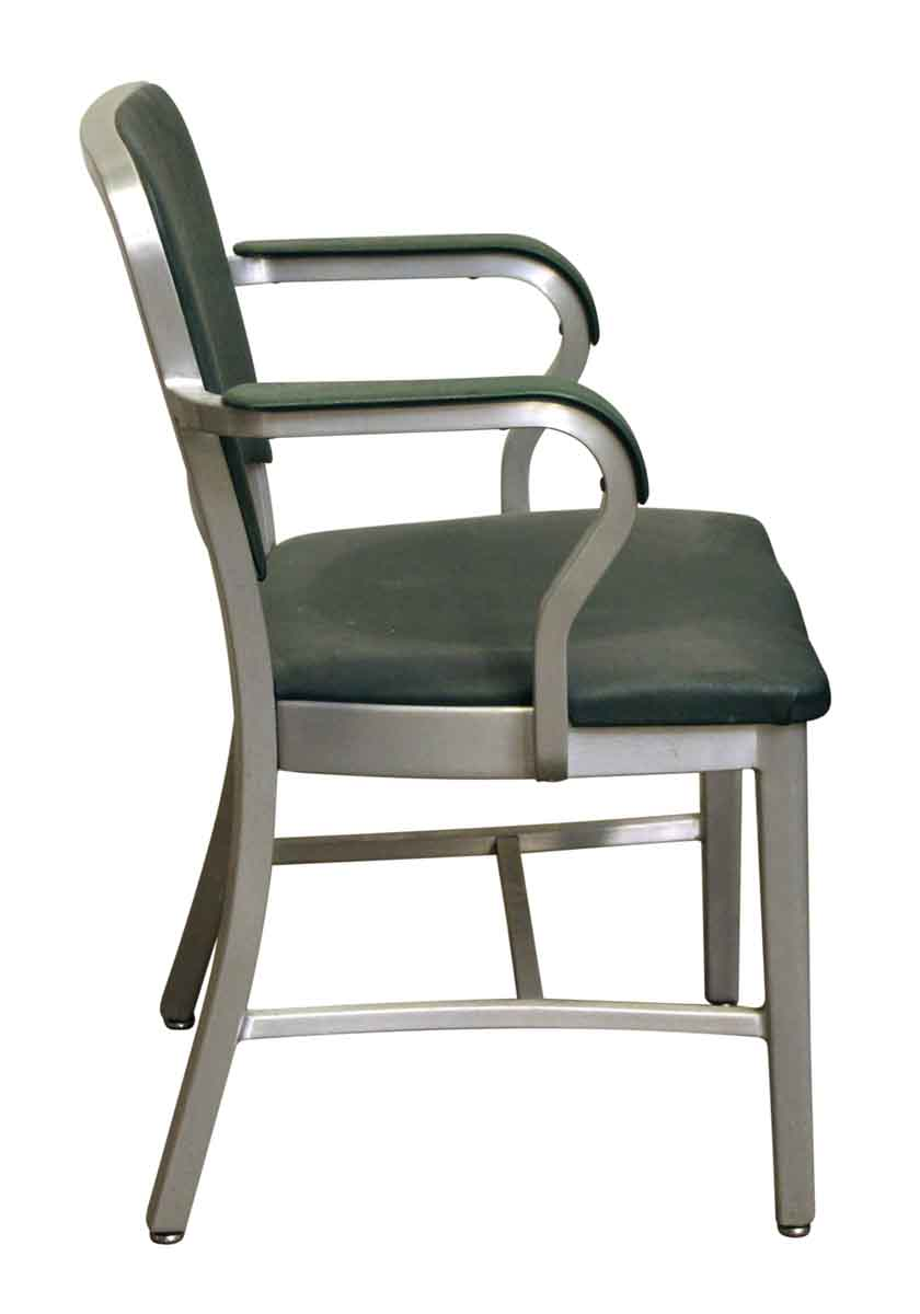 Vintage Emeco Green Office Chair | Olde Good Things