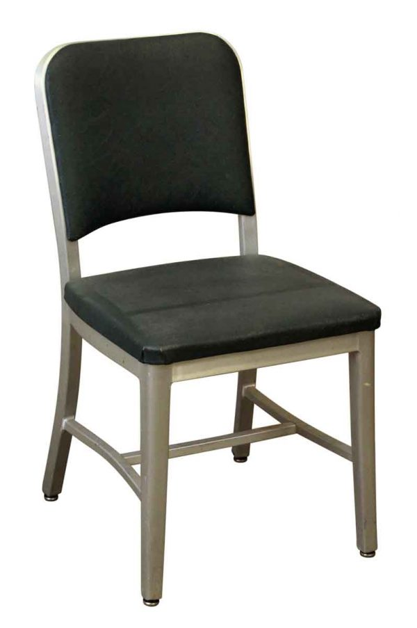 Office Furniture - Green Office Chair with Aluminum Frame
