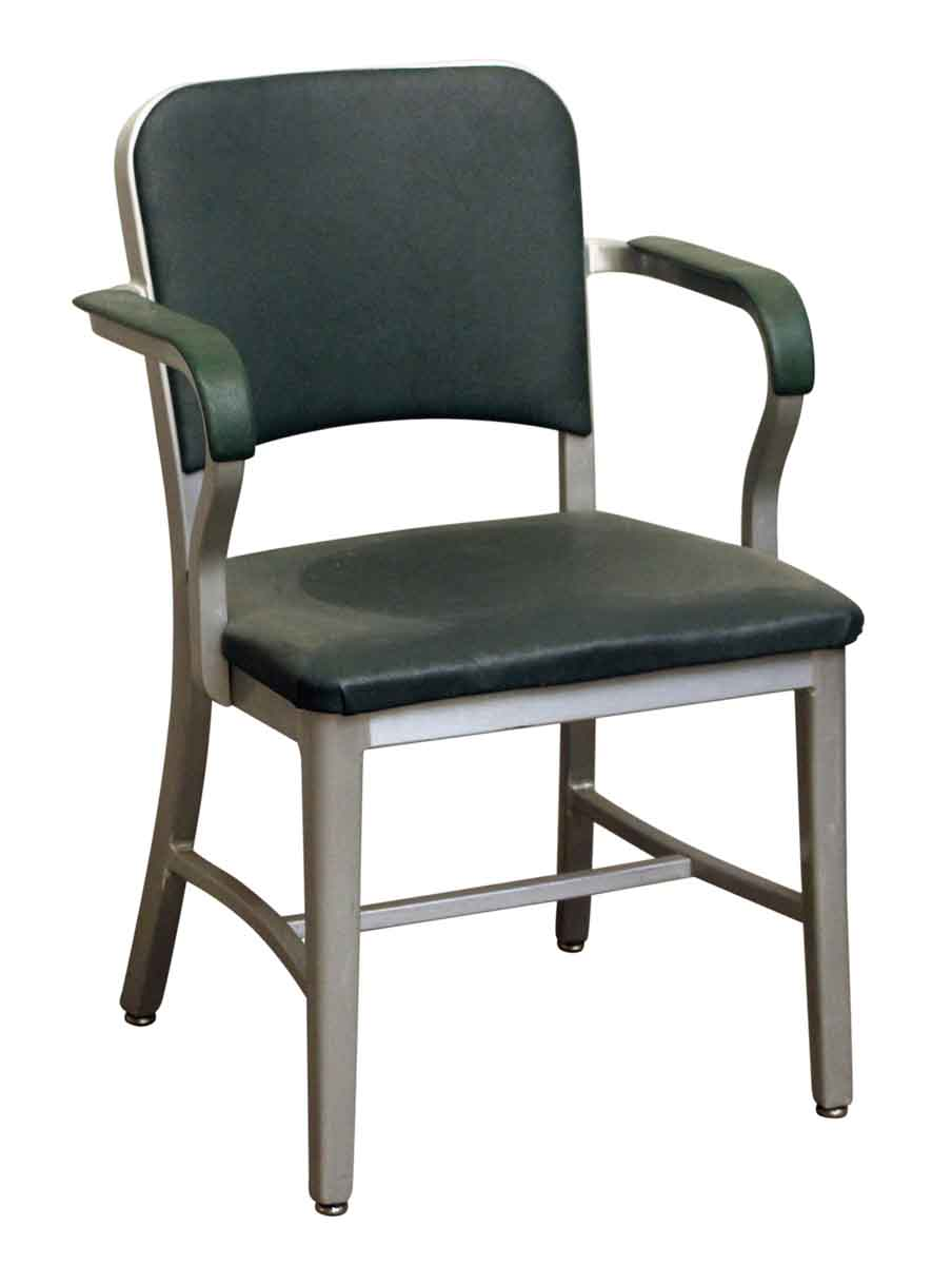 Office Furniture   Vintage Emeco Green Office Chair
