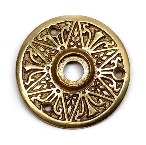 Rosettes - Cast Brass Polished Decorative Rosette