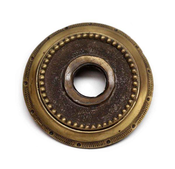 Rosettes - Vintage Beaded Brass Rosette
