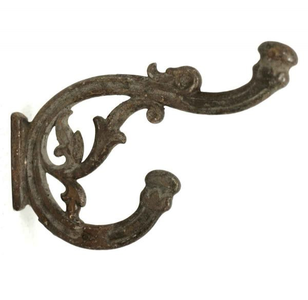 Single Hooks - Iron Bracket Double Hook