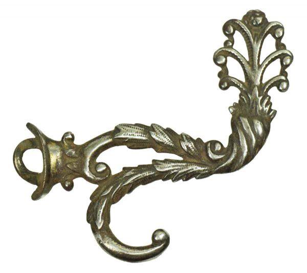 Single Hooks - Ornate Nickel Plated Hook