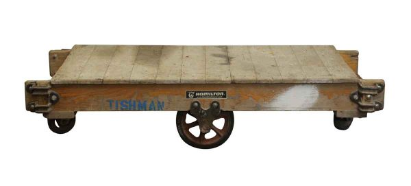Altered Antiques - Vintage Wooden Factory Cart