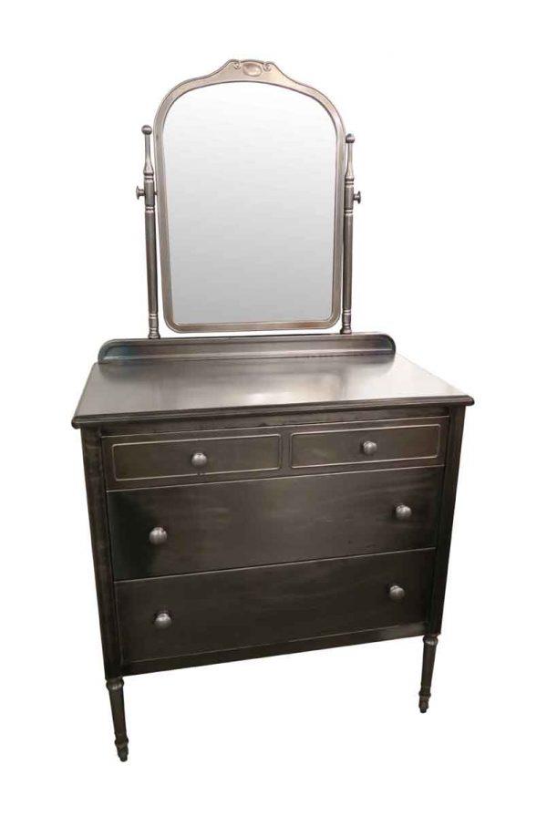Bedroom - Vintage 1930s Steel Metal Dresser