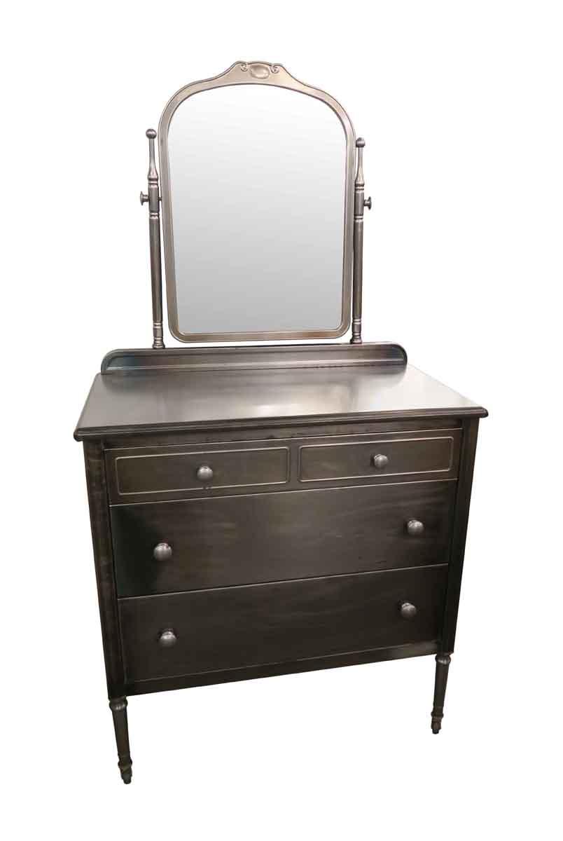 Vintage 1930s Steel Metal Dresser