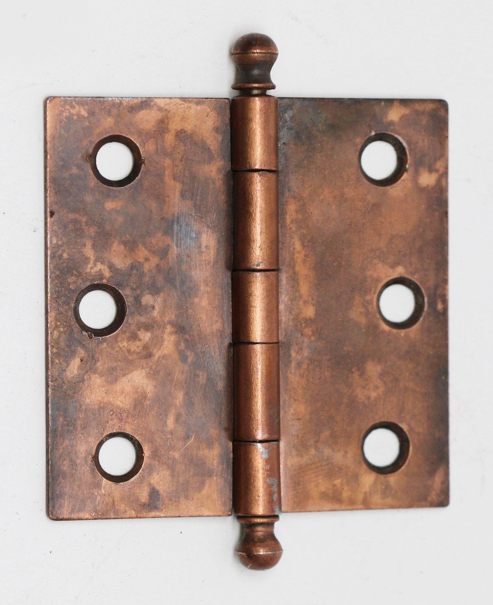 Cabinet Furniture Hinges Copper Washed Steel Hinge