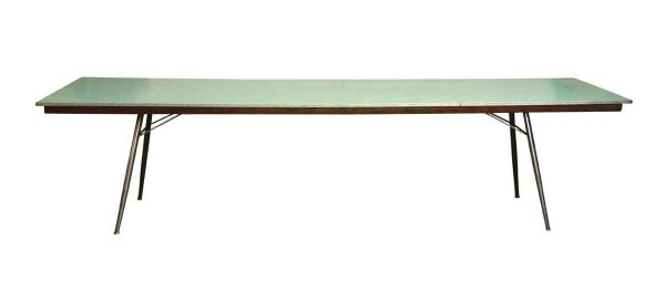 Commercial Furniture - Reclaimed Green Fold Up Table