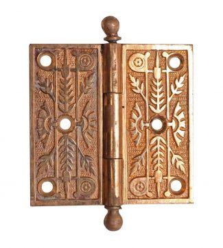 Polished Bronze Aesthetic Door Hinge