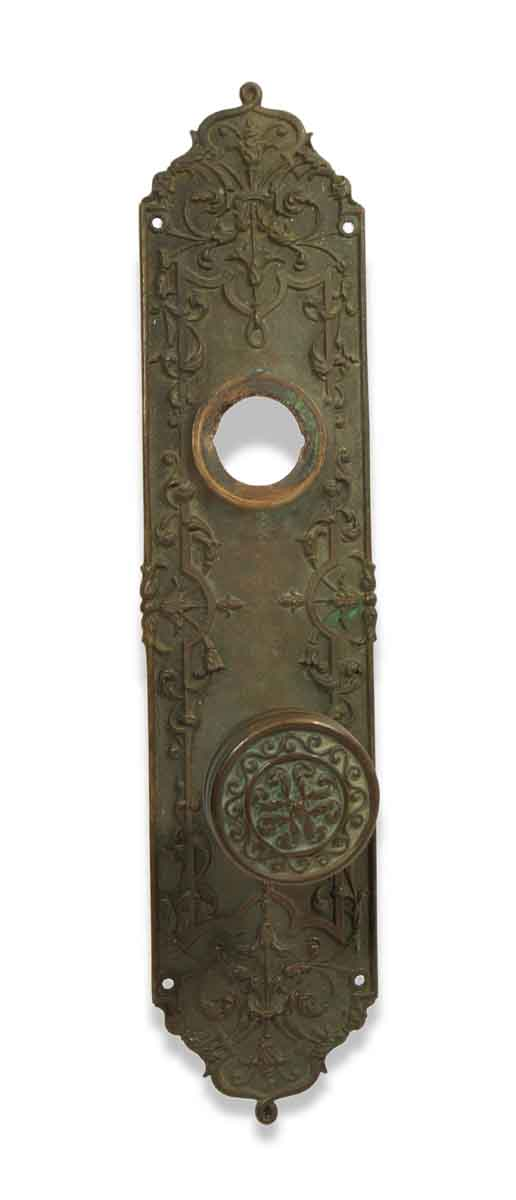 Door Knob Sets - Antique Reading Entry Door Knob Set