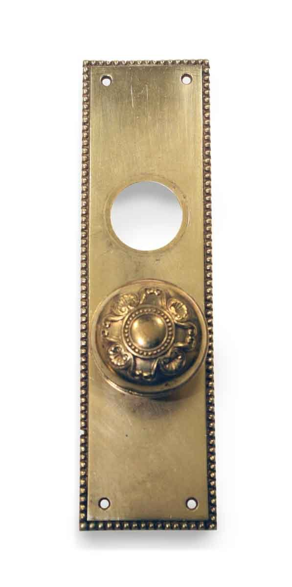 Door Knob Sets - Antique Yale & Towne Amherst Door Knob Set