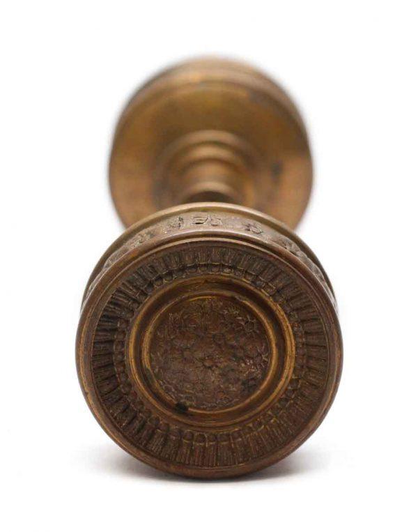 Door Knobs - Antique Corbin Bronze Field Door Knob Set