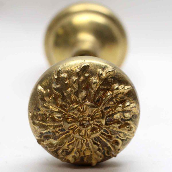 Door Knobs - Antique Polished Brass Plated Bronze Door Knobs