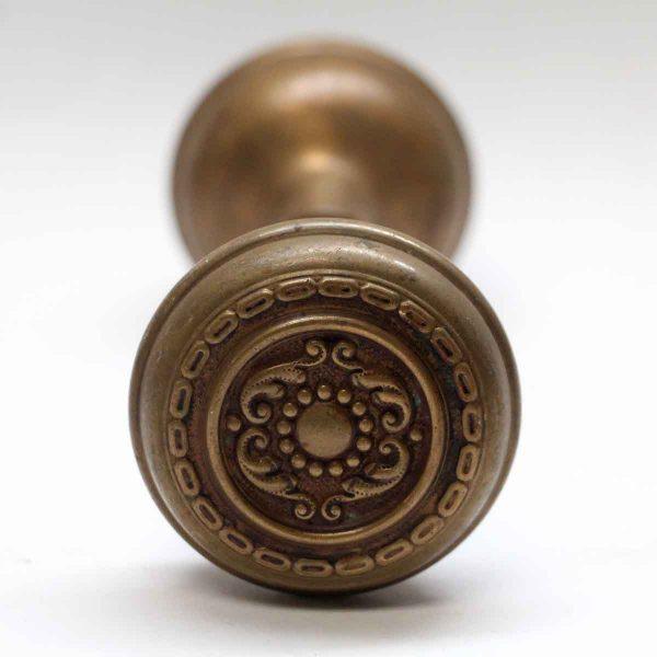 Door Knobs - Antique Sargent Aromas Bronze Door Knob Set