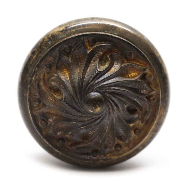 Door Knobs - Antique Yale & Towne Bronze Patina Door Knob