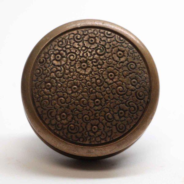 Door Knobs - Single Russell & Erwin Field Bronze Door Knob