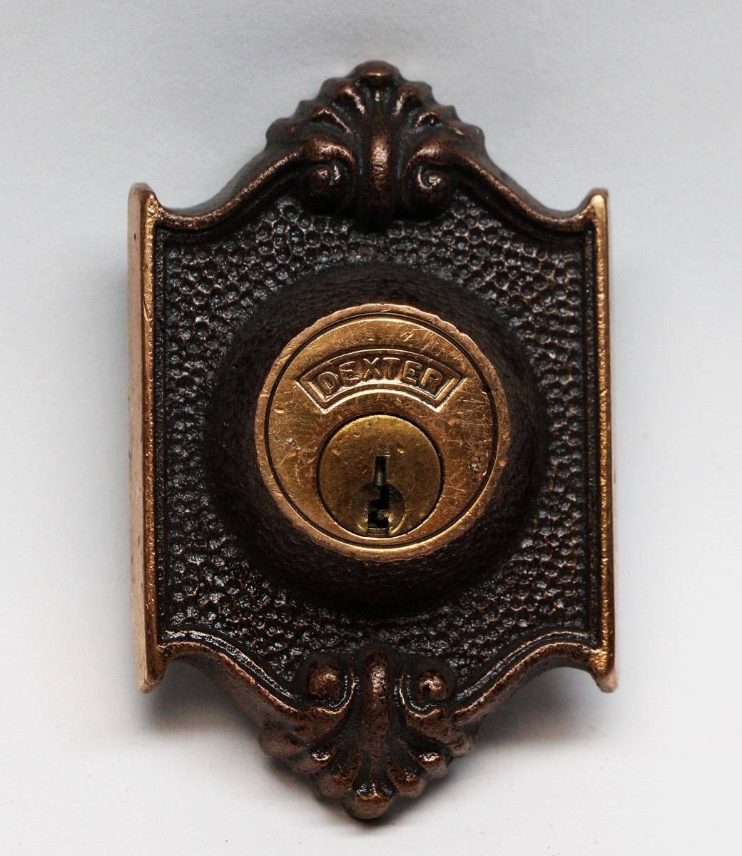 Door Locks   Bronze Lock Cover With A Dexter Lock