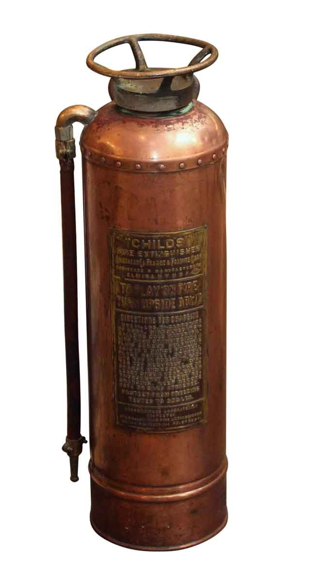 Vintage Copper Fire Extinguisher Olde Good Things
