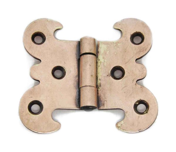 Ice Box Hardware - Antique Butterfly Bronze Ice Box Hinge