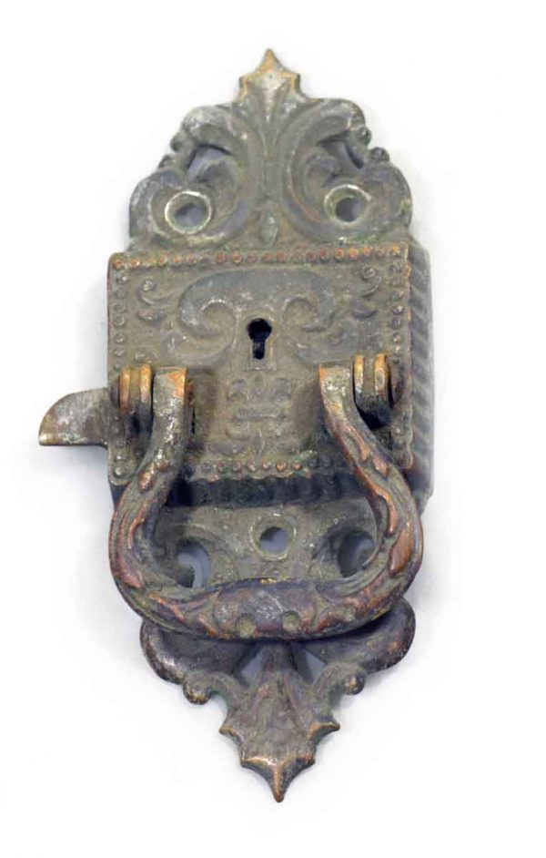 Ice Box Hardware - Vintage Large Ornate Ice Box Lock