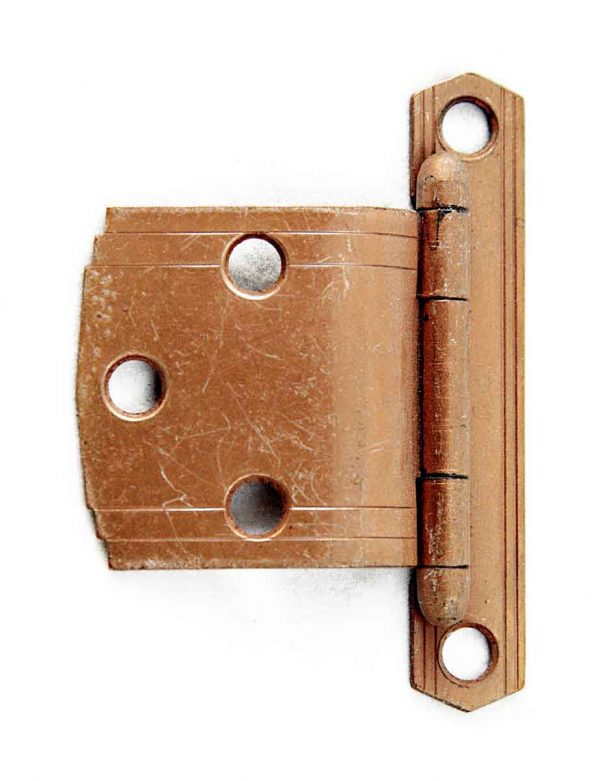 Ice Box Hardware - Vintage Solid Brass Icebox or Cabinet Hinge