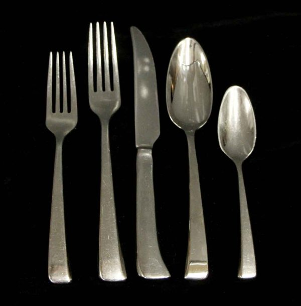 Kitchen - Salvaged Waldorf Modern Sambonet 5 Piece Flatware Set